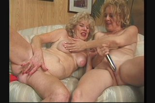Streaming porn scene video image #2 from Two horny lesbian grannies enjoying each other