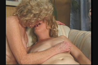 Streaming porn scene video image #5 from Two horny lesbian grannies enjoying each other
