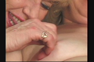 Streaming porn scene video image #6 from Two horny lesbian grannies enjoying each other