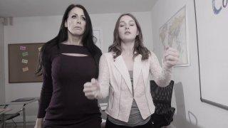 Streaming porn video still #14 from Lesbian Legal Part 13