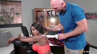 Streaming porn video still #1 from Rubbing Down A Horny Slut