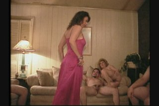 Streaming porn scene video image #6 from Delightful mature gangbang