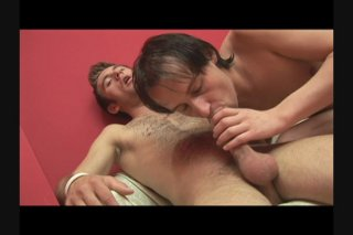 Streaming porn scene video image #1 from Gay Partners Pummel It Out