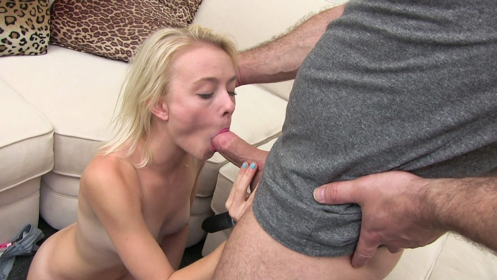 Daddy's little dick sucking queen
