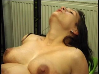 Streaming porn scene video image #7 from Seven months pregnant horny brunette nailed