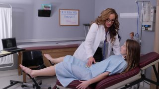 Streaming porn video still #1 from Lesbian Milf Doctor