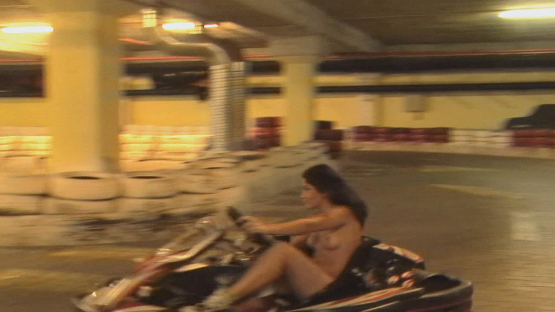 Fucking at the go kart track