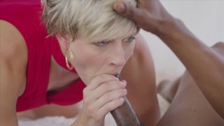Streaming porn video still #4 from Interracial Threesomes Vol. 5