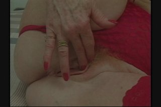 Streaming porn scene video image #2 from Granny gets her pussy shaved and fucked by own nephew
