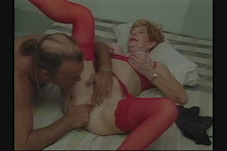Streaming porn scene video image #6 from Granny gets her pussy shaved and fucked by own nephew