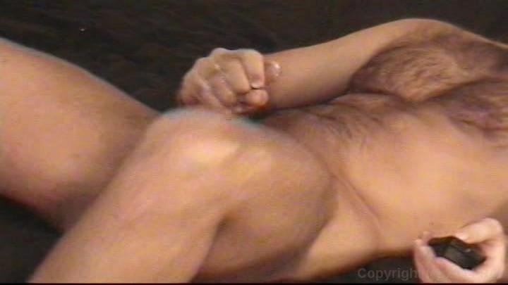 video masturbation Real man