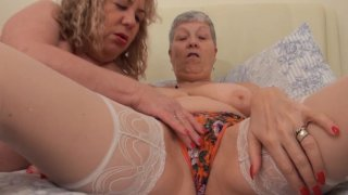 Streaming porn video still #2 from Mature British Lesbians #6