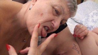 Streaming porn video still #6 from Mature British Lesbians #6