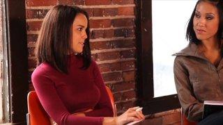 Streaming porn video still #1 from Secret Lesbian Diaries 3: Writing School