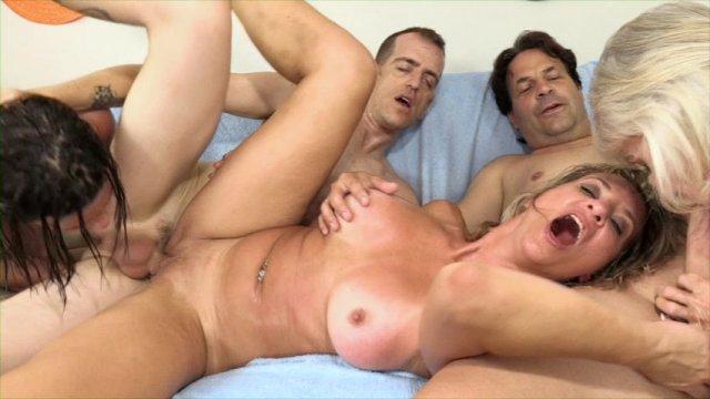 Free Mature Orgy Movies