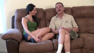 Streaming porn video still #2 from Weekends At Grandpas 3