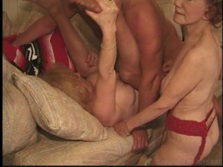 Streaming porn video still #19 from Grannys Wild 3Way