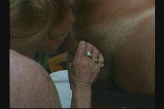 Streaming porn scene video image #1 from Granny done by her son in law and his best friend