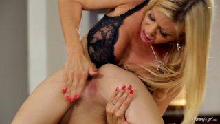 Streaming porn video still #3 from Mom & Mommy