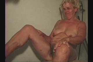 Streaming porn scene video image #1 from Hairy granny done by skinny grandson