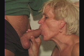 Streaming porn scene video image #2 from Hairy granny done by skinny grandson
