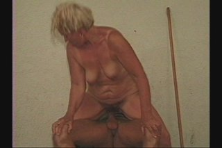 Streaming porn scene video image #4 from Hairy granny done by skinny grandson