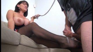 Streaming porn video still #11 from Even More... Femdom Cumshots!!!