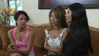 Streaming porn video still #2 from Lesbian House Hunters Part 16