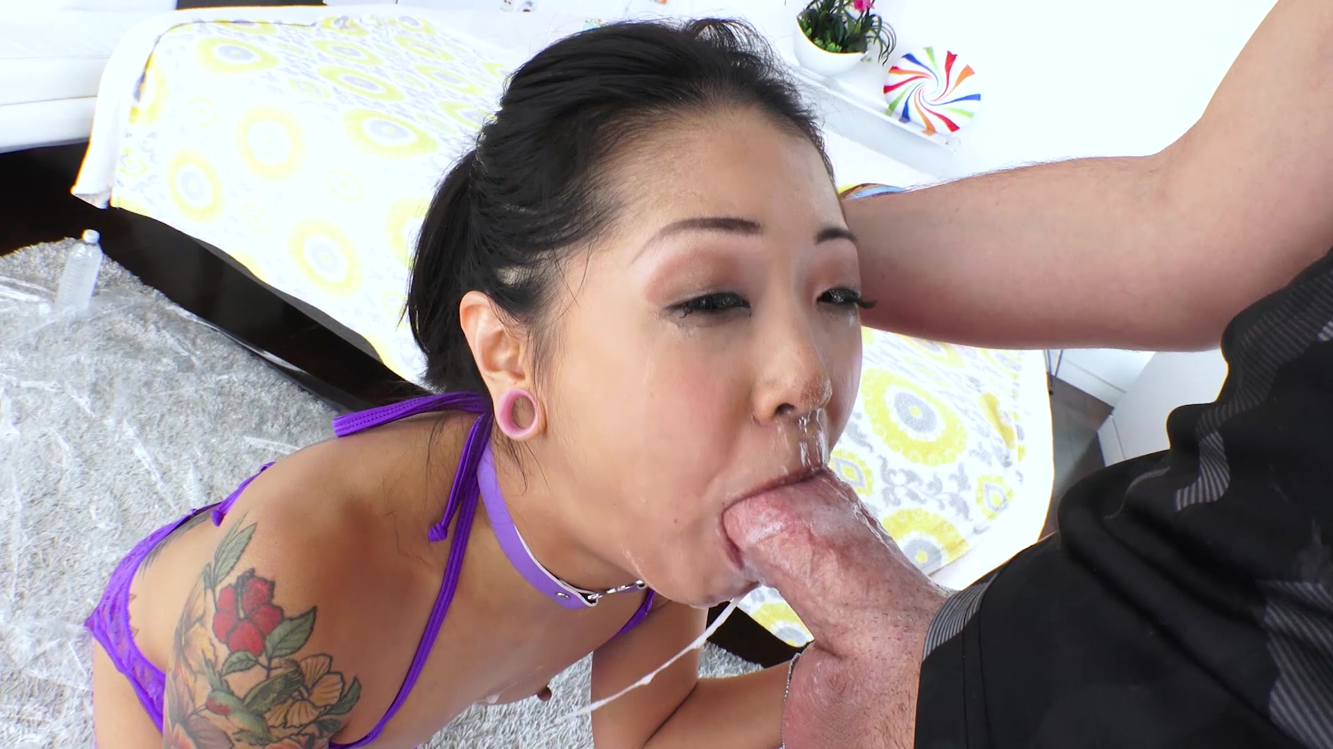 Sharon lee deepthroat