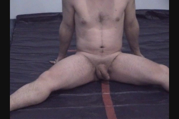 Iron man nude workout