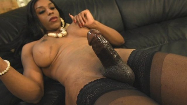 Streaming porn video still #4 from Black Tranny Whackers 30