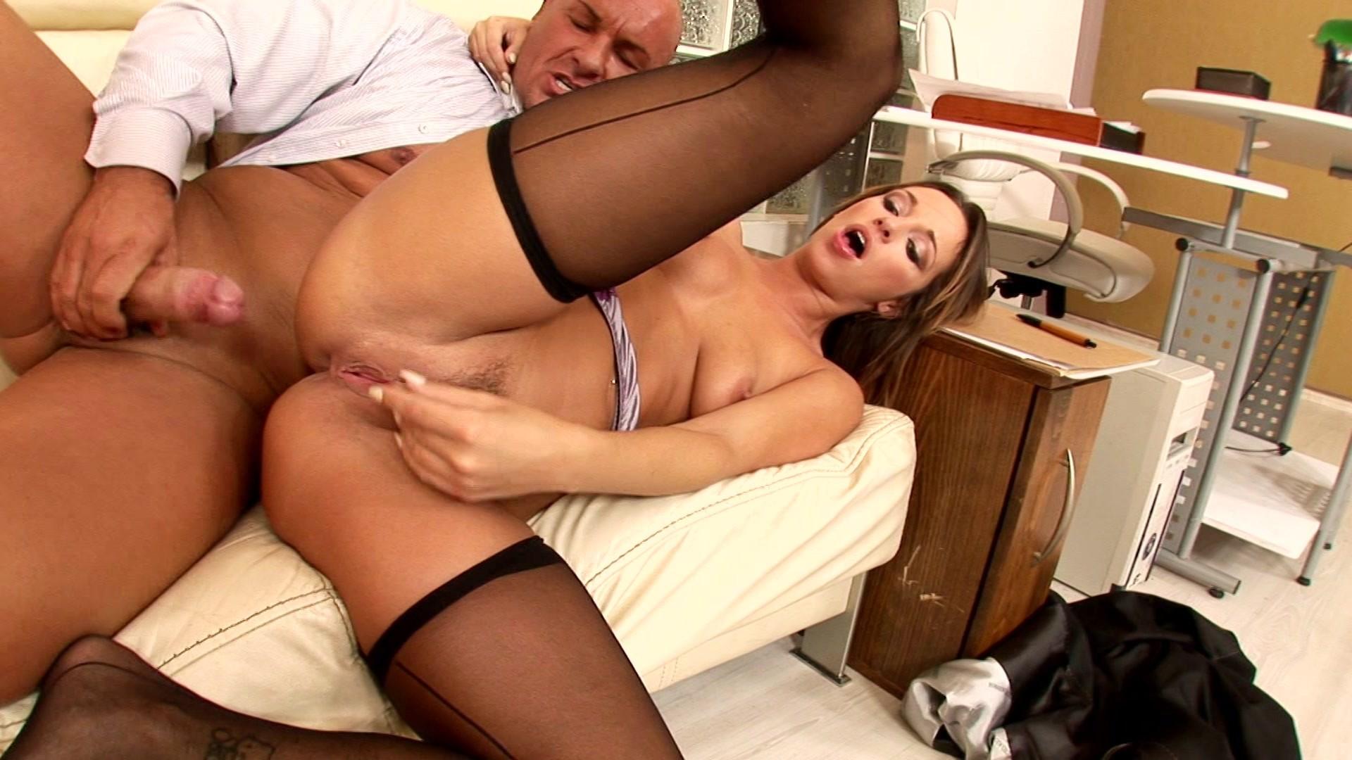 Порно порно ролики онлайн секретарши в чулках
