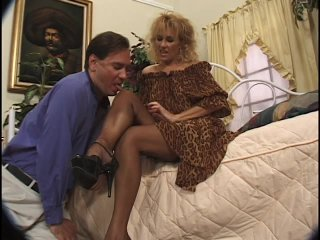 Streaming porn scene video image #1 from Sensual MILF makes her brother cock cum with feet