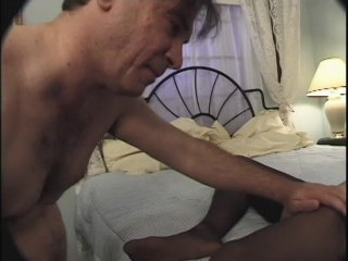 Streaming porn scene video image #2 from Kinky father fucks his daughter feet and pussy