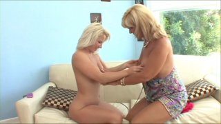 Streaming porn video still #4 from Getting It On With Step Moms
