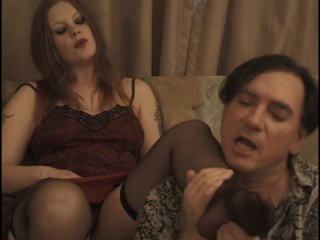 Streaming porn scene video image #2 from Nasty uncle gets awsome footjob from his niece