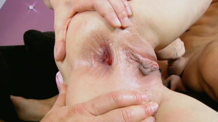 Streaming porn video still #1 from All Holes Filled