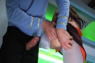Streaming porn video still #1 from This Ain't Star Trek XXX