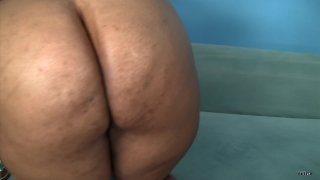 Streaming porn scene video image #4 from Black BBW Goes Nuts On BBC