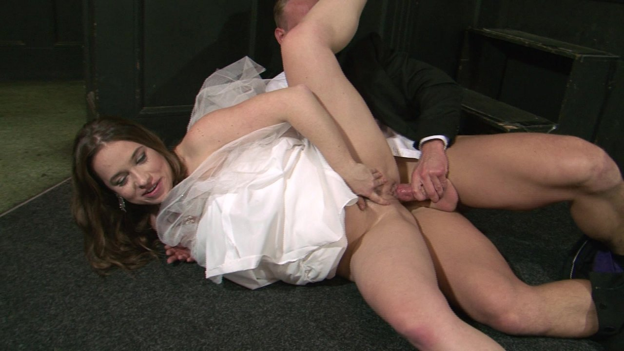 Lesbian bride squirting sex