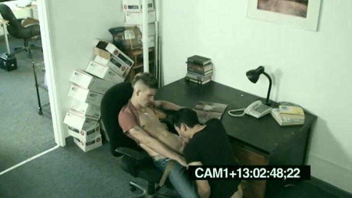 Caught having sex on security camera