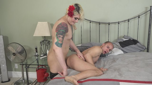 Streaming porn video still #2 from My Transsexual Stepmom