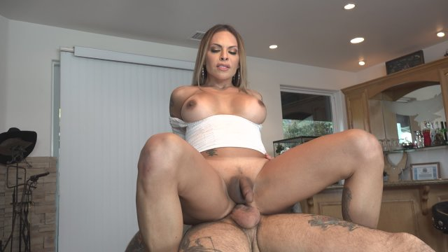 Streaming porn video still #3 from My Transsexual Stepmom