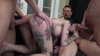 Streaming porn video still #6 from Perverted DPs