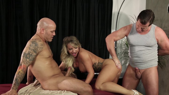 Streaming porn video still #1 from Threesome Massage