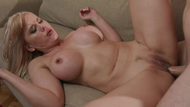 Streaming porn video still #1 from I Love My Mom's Big Tits #7