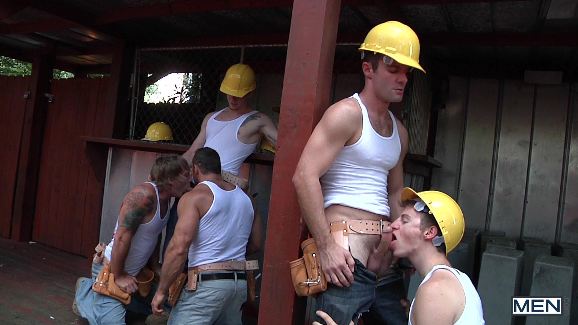 British Slut Milf Fucks Construction Guy