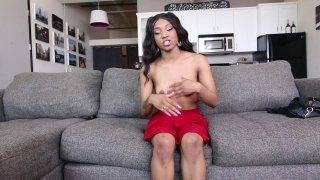 Streaming porn video still #4 from Petite Black 3
