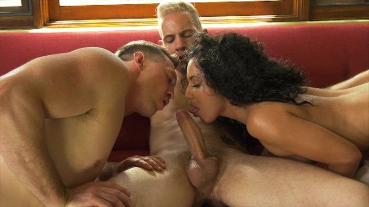 Streaming porn video still #2 from Just Getting Bi
