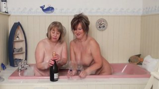Streaming porn video still #1 from Mature British Lesbians #2